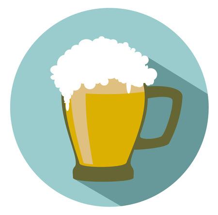 frothy: beer mug