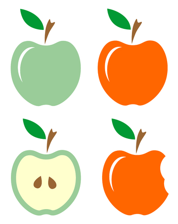 apple bite: apple