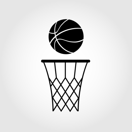 moving activity: basketball ball Illustration
