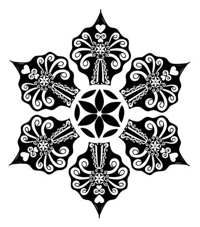 star: Star snowflake
