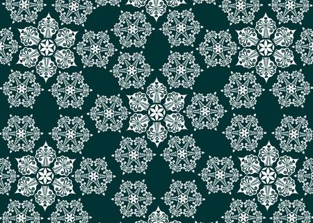 star background: Star snowflake background