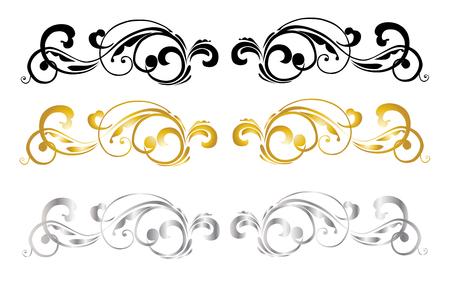 calligraphic design: Calligraphic Design Illustration