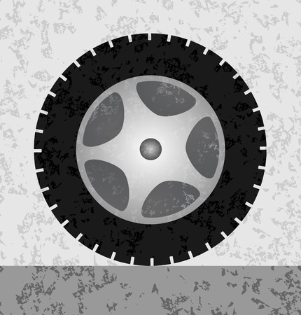 bacground: Wheel Graphic grunge bacground
