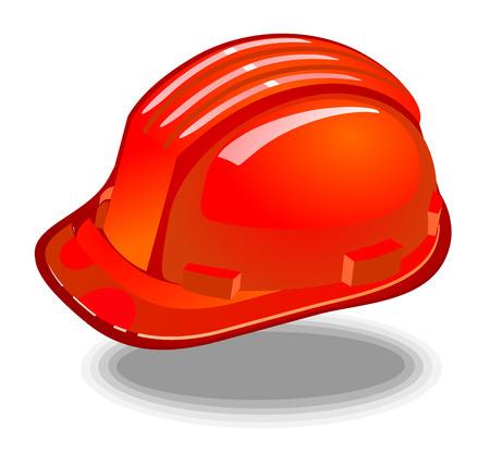 bombero de rojo: casco de bombero rojo