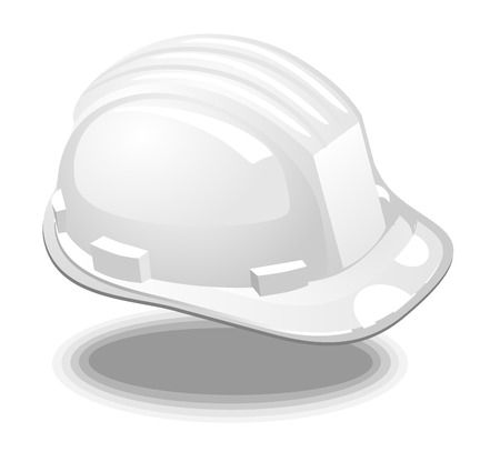 white helmet engineer