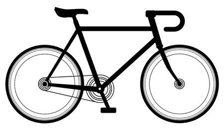 racing bike: Racing bike design vector eps 10