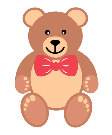 small articles: teddy with tie