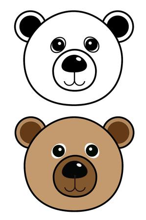 Bear icon vector eps 10 Illustration