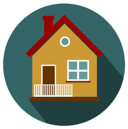 House flat design icon vector eps 10