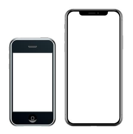 modern mobile phones