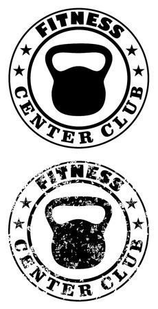 Timbre de club de centre de fitness