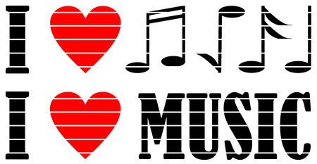 I love music illustration.