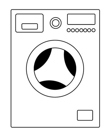 Washing machine vector eps 10