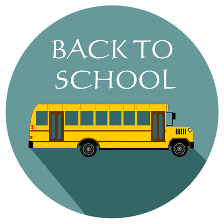 back to school flat design icon vector eps 10
