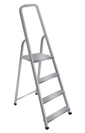Ladder metal step Ilustracja