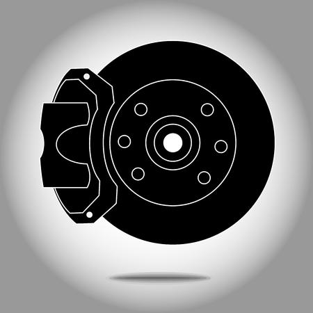 Brakes system vector eps 10