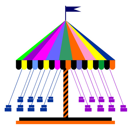 carousel vector eps 10
