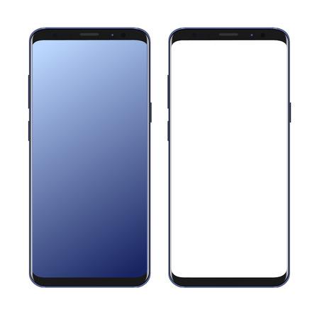 modern smartphone set vector