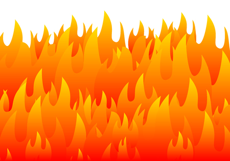 burning fire flame background vector eps 10