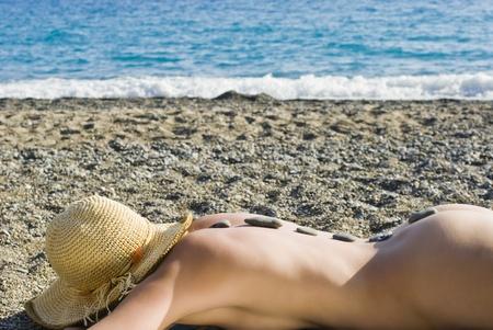 chakras: masaje a orillas del mar