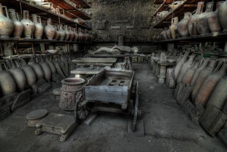 excavations of pompeii photo