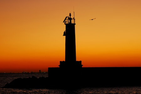 sunset in istanbul photo