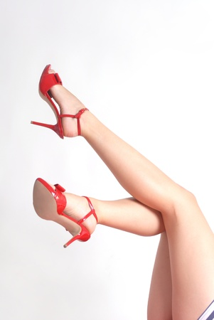 legs in pin up style Stock Photo - 10731080