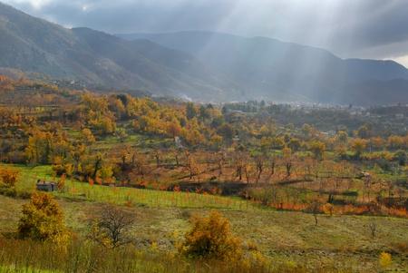 Panorama Autumn in Laceno photo