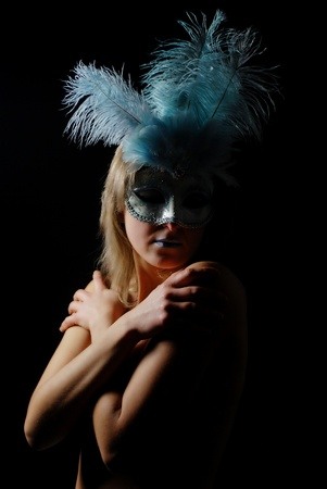 sexy and isolated carnival mask Stock Photo - 11813465