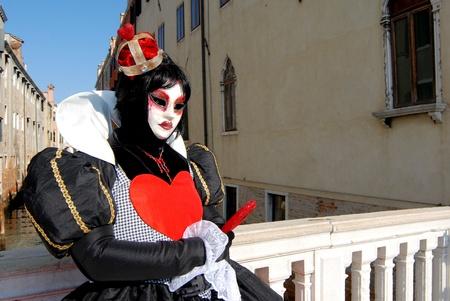 Venetian masks during sensation venetian carnival in Venice Stock Photo - 12173657