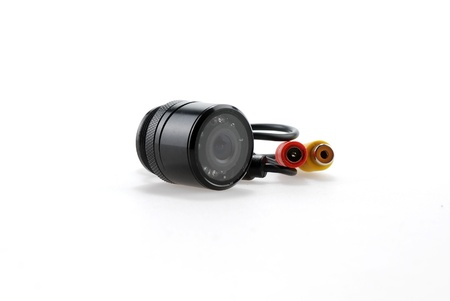 Isolated ccd car camera on white background
