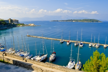 ionio: Landscapes of Kerkyra, Corf & ugrave, Greece
