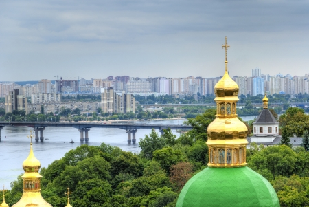 Kiev Pechersk Lavra       -                , one of the most famous monasteries in Kiev and a UNESCO World Heritage Site photo