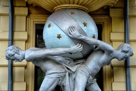 titans: Titans that keep the world in Odessa, Ukraine