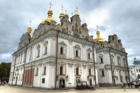 Kiev Pechersk Lavra, one of the most famous monasteries in Kiev and a UNESCO World Heritage Site photo