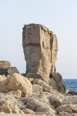 proto: View of Proto Miggiano  in Salento coast, Puglia, Italy