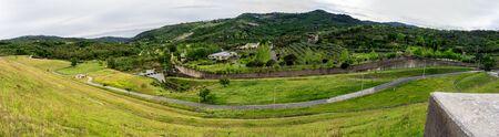 Beautiful nature in Cilento mountains Standard-Bild
