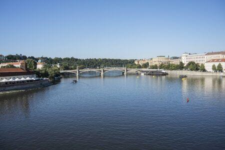 Urban scene of Praga landscape