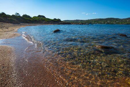 Una piccola spiaggia (One small beach) Olbia, Sardinia, Italy