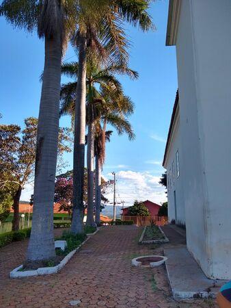 church square in rio preto.