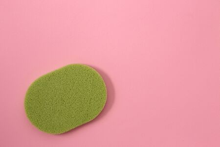 cosmetic sponges and foundation