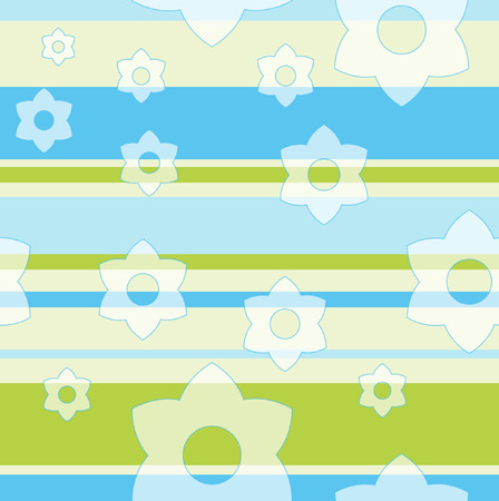 Seamless floral pattern Stock Vector - 3396817