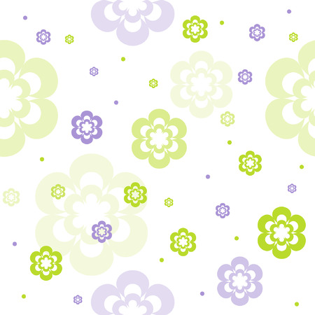 Seamless floral pattern Stock Vector - 3398625