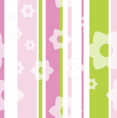 Seamless floral pattern Stock Vector - 3398619