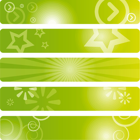 Set of banners background (350x60 pixels)