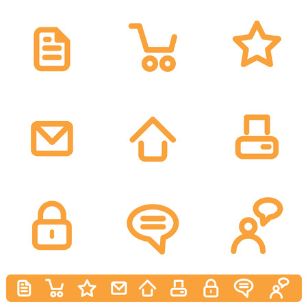 printer: Internet Icon Set