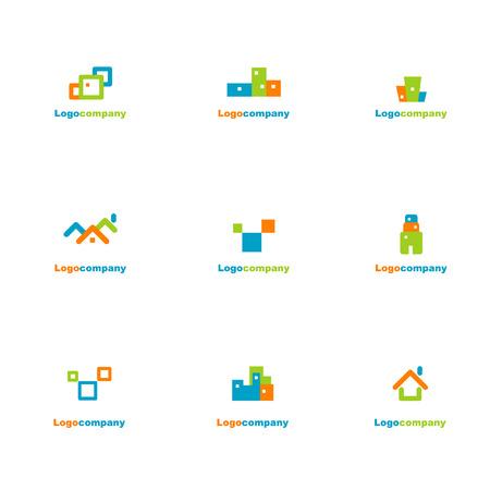 construct: Verzameling van logo elementen