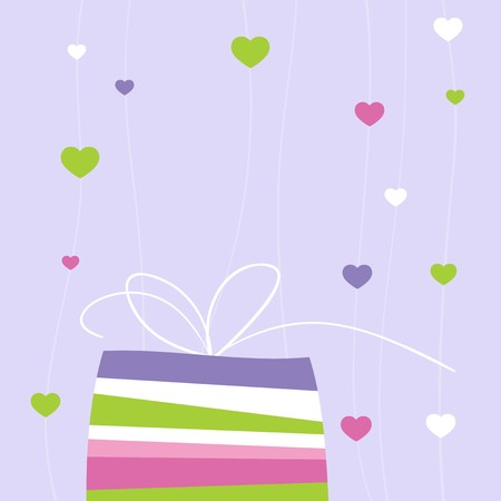 Valentine's card with copy space Stock Photo - 4257591