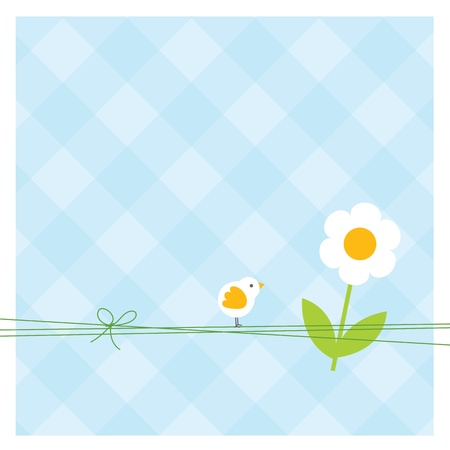 Easter card with copy space Stock Vector - 12391793