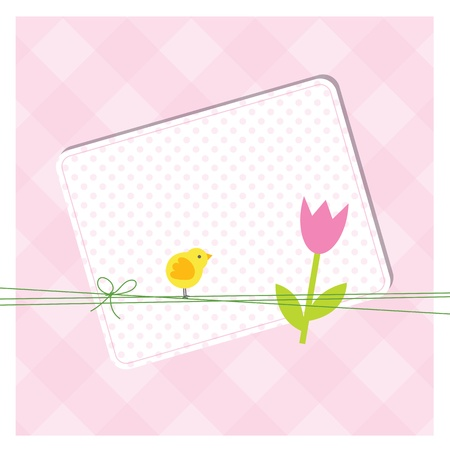 congratulate: Easter card with copy space
